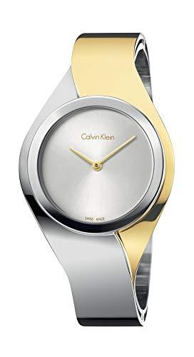 Calvin Klein Orologio Analogico Quarzo da Donna con Cinturino in Acciaio Inox K5N2M1Y6