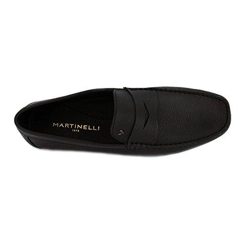 Martinelli , Herren Mokkasins schwarz Schwarz Schwarz