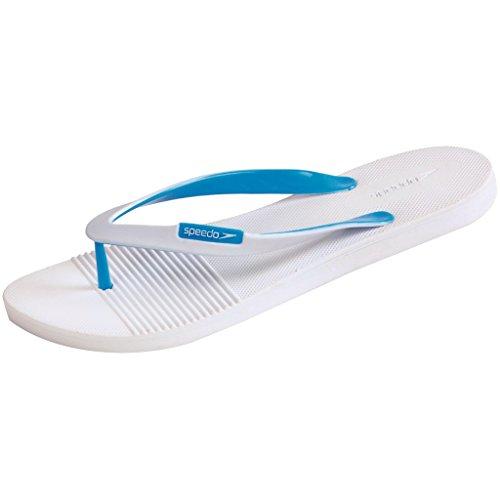 Speedo Saturate II Thg Af Sandali da Spiaggia Bianco/Azzurro