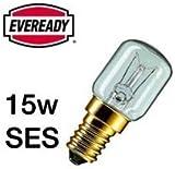 10x Eveready 15W Pygmy Bulb Appliance Lamp SES(E14) -