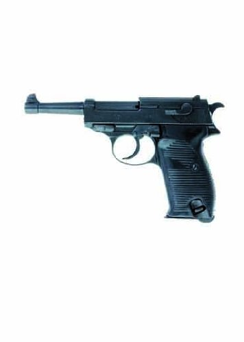 Deko Pistole Deutschland 1938 - schwarz (Deko Waffe) -