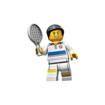 LEGO Figurines à Collectionner: Joueur De Tennis Tactique Mini-Figurine (Olympic Team GB)