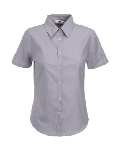 Fruit Of The Loom T-Shirt à manches courtes d'entreprise de 65000 Oxford Grey