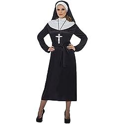 Smiffy's 20423X1 - Disfraz para mujer, talla XL, color negro