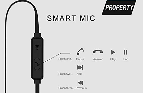 Clavier Echotone in-Ear Headphones/Earphones with Stereo Mic for All Smartphones Image 3
