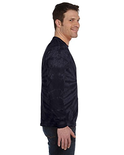 Pliuegy 5.4 oz., 100% Cotton Long-Sleeve d T-Shirt 2SPIDER NAVY