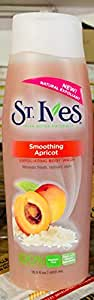 St. Ives Fresh Skin Apricot Exfoliating Body Wash, 400 ml