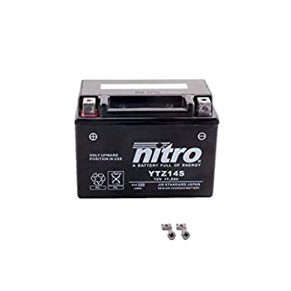 Batterie 12V 11,2AH YTZ14S Gel Nitro NC 750 X ABS DCT RC72 14-15