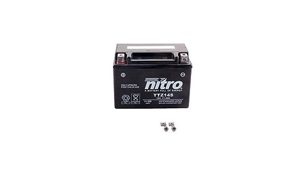 Batterie 12v 11 2ah Ytz14s Gel Nitro Nc 750 S Abs Rc70 14 15 Auto
