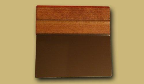 Preisvergleich Produktbild ELETTRO CENTER Art.195Spachtel reinigen Schneidebrett, Edelstahl, Silber, 4Einheiten