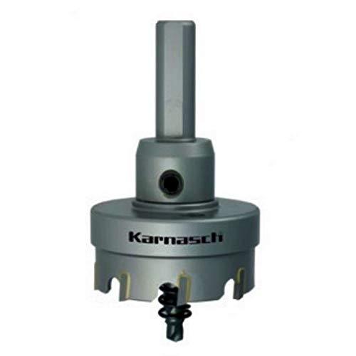 Hartmetall bestückte Lochsäge Lochkreissäge für Stahl Edelstahl GFK NE-Metalle Easy-Cut 5 mit Schaft, Bohrer, Feder, Schnitttiefe 12mm, Ø d=37mm