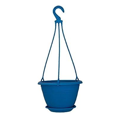 Hängeampel 25 cm Hellblau - Untersetzer + Aufhängung von BERGLAND - Du und dein Garten