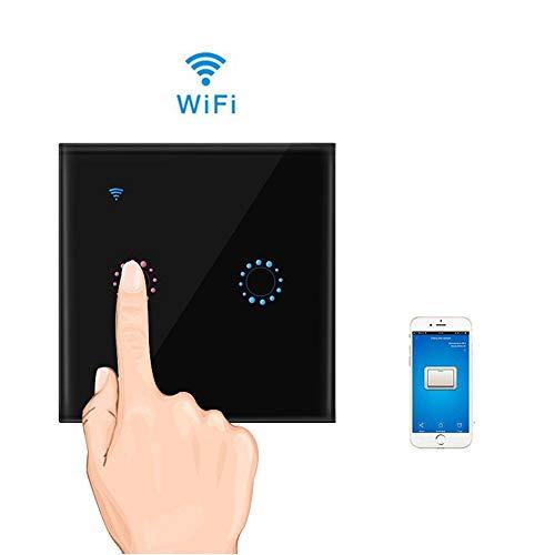 Teepao Interruptor WiFi, Interruptor Tactil Sensor 2 Gang Interruptores Inalambricos Inteligente para...