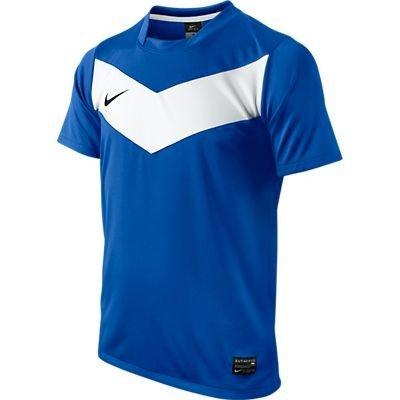 Preisvergleich Produktbild NIKE Jungen Fußball Shirt Shortsleeve Victory GD JSY, royal blue/white/black, XL, 413165