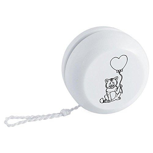 'Katze mit Herz Ballon' Yo-Yo (YY00002979) - Yoyo Ballon