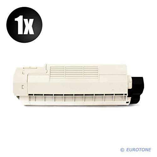 1x Müller Printware Toner für Oki C 5650 5750 DN N ersetzt 43865708 Schwarz Black -