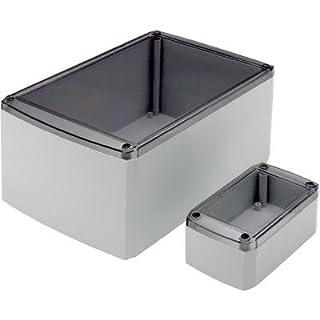 Axxatronic Universal casing Series 102 33102006-CON ABS (L x W x H) 220 x 140 x 90 mm Light grey