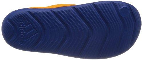 adidas , Chaussures spécial activités nautiques pour garçon Multicolore - Azul / Blanco / Naranja (Eqtazu / Ftwbla / Eqtnar)