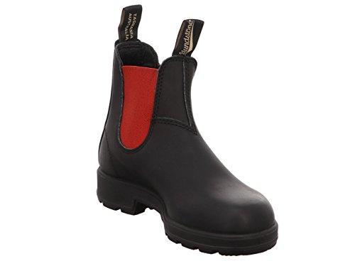 Blundstone Classic Comfort 550, Unisex-Erwachsene Kurzschaft Stiefel voltan black / red