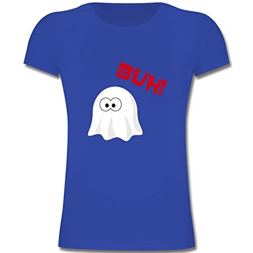 einer Geist Buh süß - 164 (14-15 Jahre) - Royalblau - F131K - Mädchen Kinder T-Shirt ()