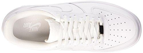 Nike 654256 100, Running Homme Blanc/Blanc-Blanc