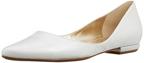 Högl Damen 3-10 0003 0300 Geschlossene Ballerinas Weiß (perlweiß0300)