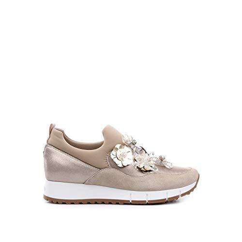 aa85c76cde785 Liu Jo Scarpe Donna Sneakers Senza Lacci B19021 TX034 Gigi 03 Elastic Sock  Taglia 36 Beige