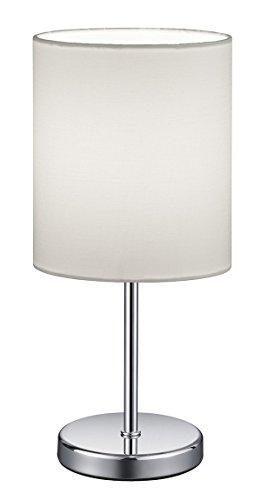 Reality Leuchten Lámpara de mesa E14, 40 W, Weiß, 13 x 13 x 28.5 ...