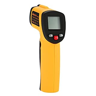 KKmoon Professional Grade Non-Contact LCD IR Infrared Digital Thermometer Point