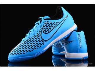NikeJr. Magista Onda IC - Botas de fútbol (Zapatillas de Carrera) Unisex, para niños, Color - Turquoise Blue/TRQS BL-BLK, tamaño 35 EU