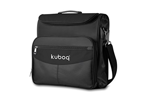Price comparison product image Kuboq Travel Gaming Bag for PlayStation 4 PS4 - Console Controllers Games Cable Slot, Waterproof Shoulder Bag