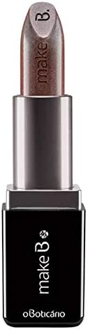 O Boticario Make B. Metallic Lipstick - Cosmic Brown
