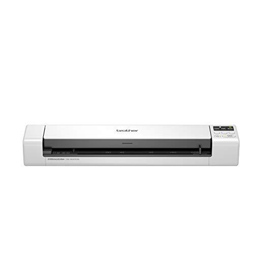 Brother DS-940 Mobiler Scanner   A4   beidseitig   WLAN   integrierter Akku   15 ppm   Farbe   Schwarz/Weiß   Scan to USB