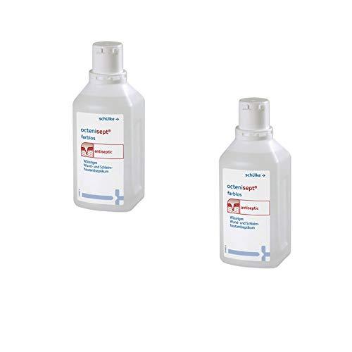 Schülke & Mayr octenisept® wässriges Wund- und Schleimhautantiseptikum 2 x 500 ml Set