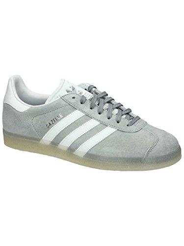 adidas Gazelle Mid Grey White Metallic Silver gris blanc