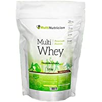 Multi Whey Concentrado de Proteína 1.500 gr Sabor Chocolate   Tratamiento para un mes