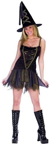 Kostüm Hexe Sexy Flirt - Horror-Shop Sexy Flirt Hexe Gr. ML