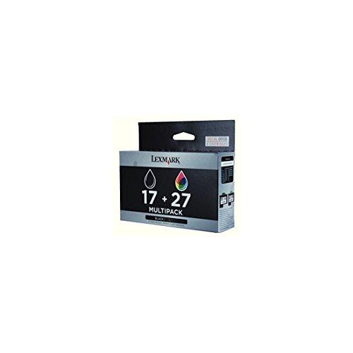 75 Combo Pack (Combo Pack #17 + #27 - Druckerpatrone - 1 x Schwarz, Farbe (Cyan, Magenta, Gelb))