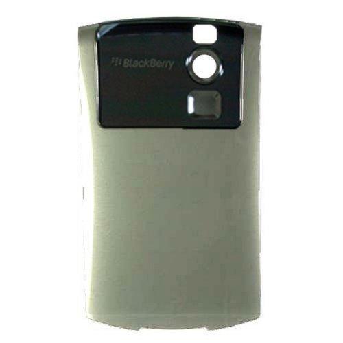 BlackBerry 8310 Curve Akkufachdeckel Silber -