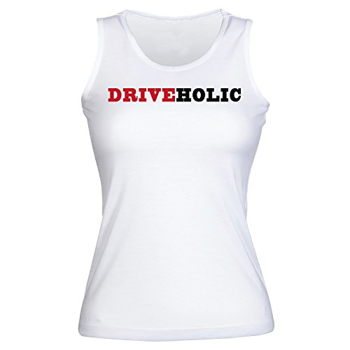 Driveholic The Person Who Loves Driving Women's Tank Top Shirt