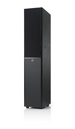 JBL Arena 180 - Altavoz amplificado doble para suelo (2-vías, 7 pulgadas/178 mm), color vinilo negro