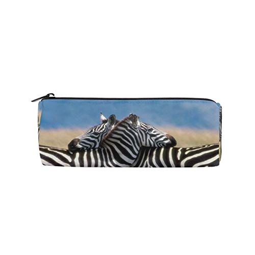 Pencil Pouch Wild Deer Beautiful Zipit Cute Pencil Cases School Pen Organizer Holder Womens Makeup Bag