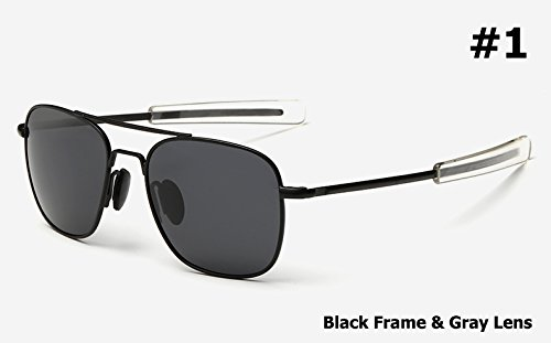 Aprigy Mode M?nner Armee-Milit?r Aviator Art polarisierte Sonnenbrille Fahren Brand Design Sun Glasses