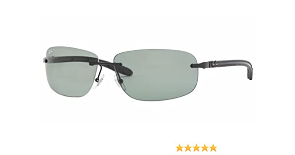 7af5af592f9 Ray-Ban Sunglasses (RB 8303 002 9A 61)  Ray-Ban  Amazon.co.uk  Clothing