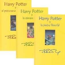 Harry potter, 3 vols. estuche