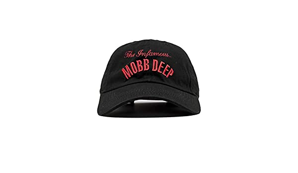 45e4dcd888887 Magic Custom MOBB Deep - Casquette Dad Cap Black The Infamous MOBB Deep -  Noir - Taille Ajustable  Amazon.fr  Vêtements et accessoires