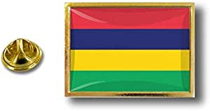 Spilla Pin pin's Spille spilletta Giacca Bandiera Distintivo Badge Mauritius