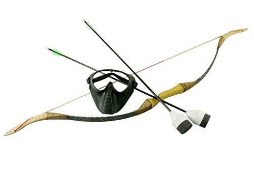 25 lb Bogen und Pfeile Set für Archery Bogenschießen Tag LARP (Pfeile Tag Bogen)