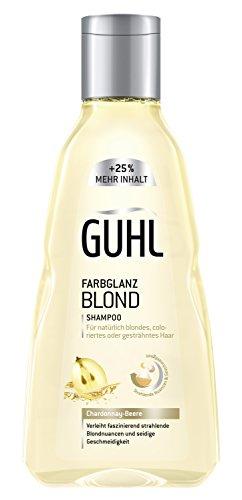 Guhl Farbglanz Blond Shampoo, (1 x 250 ml) - Blonde Feuchtigkeits Shampoo