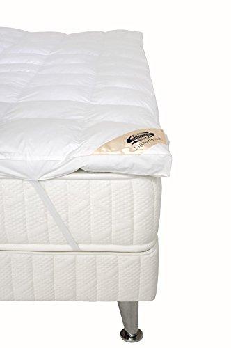 Simmons Möbel (Simmons Matratzenauflage Komfort weiß, weiß, 160 x 200 cm)